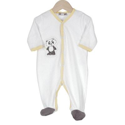 Pyjama naissance garçon - Tom le panda Pyjama naissance garçon - Tom le panda LES KINOUSSES