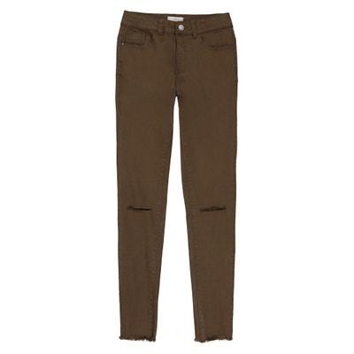 Pantaloni skinny strappati 10-16 anni La Redoute Collections