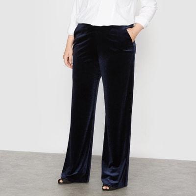 Pantaloni larghi velluto Pantaloni larghi velluto CASTALUNA