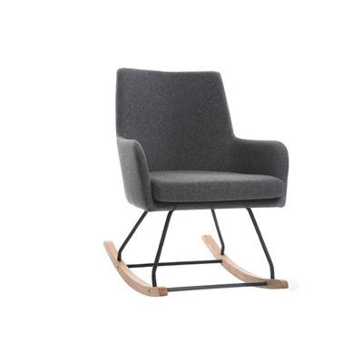 Fauteuil rocking chair design tissu SHANA MILIBOO