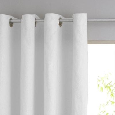 Double rideaux blanc   La Redoute