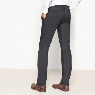Spodnie chinosy slim ze strukturalnej tkaniny La Redoute Collections