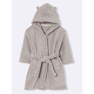Robe de chambre enfant polaire chat Robe de chambre enfant polaire chat CYRILLUS
