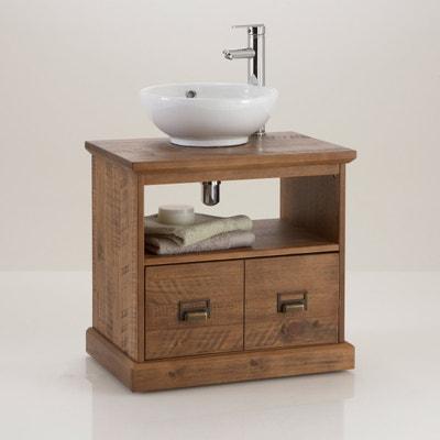 LINDLEY Solid Pine Under-Sink Bathroom Unit La Redoute Interieurs