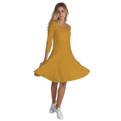 Robe jaune en solde   La Redoute 509ae1e09916