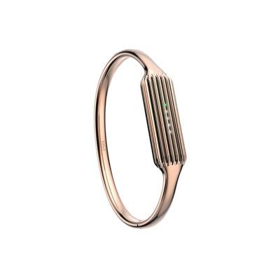 Bracelet bijoux coloris or rose flex 2 FITBIT