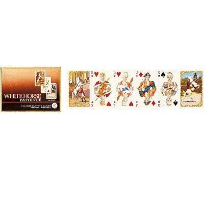 Jeu de cartes Patience White horse Jeu de cartes Patience White horse PIATNIK