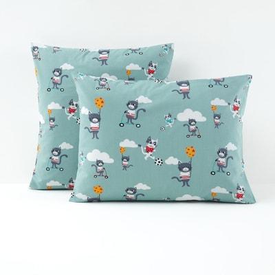 Funda de almohada infantil 100% algodón CHARIVARI La Redoute Interieurs