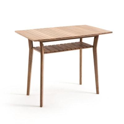 Table haute de jardin en acacia GAYTARA Table haute de jardin en acacia GAYTARA LA REDOUTE INTERIEURS