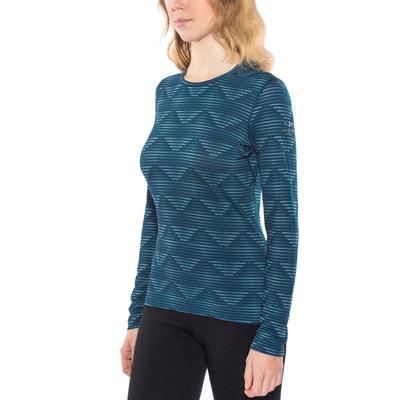 6e4ee1a01f9f Oasis - Sous-vêtement Femme - diamond line bleu ICEBREAKER