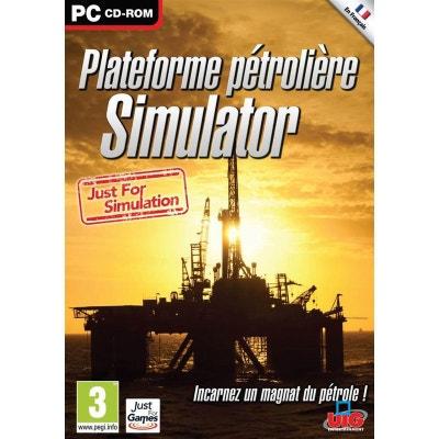 Plateforme Pétrolière Simulator 2013 PC Plateforme Pétrolière Simulator 2013 PC UIG