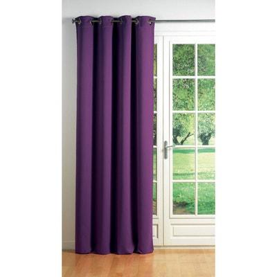 Rideau occultant violet | La Redoute