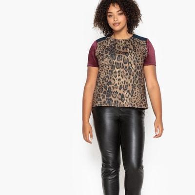 Leopard Print Blouse Leopard Print Blouse CASTALUNA PLUS SIZE