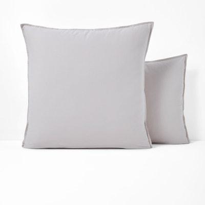 Fronha de almofada lisa, em algodão lavado, SCENARIO SCENARIO