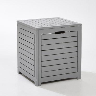 Outdoor Acacia Square Storage Box La Redoute Interieurs