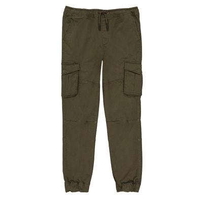Pantaloni joggers tela 10-16 anni Pantaloni joggers tela 10-16 anni La Redoute Collections