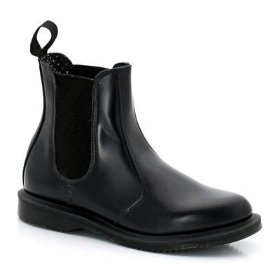 Boots cuir chelsea Flora Boots cuir chelsea Flora DR MARTENS c2cf4fe18d7c