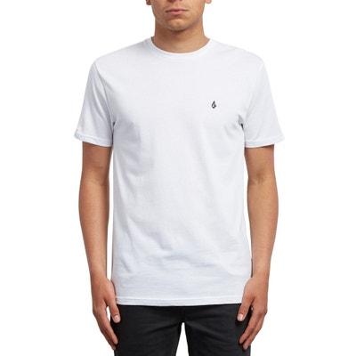 Camiseta lisa con cuello redondo y manga corta Camiseta lisa con cuello redondo y manga corta VOLCOM