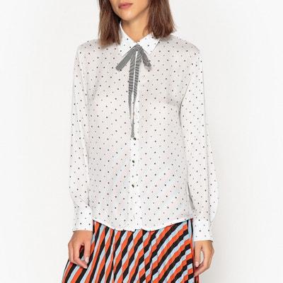 Рубашка с рисунком и галстуком-бантом Рубашка с рисунком и галстуком-бантом SISTER JANE