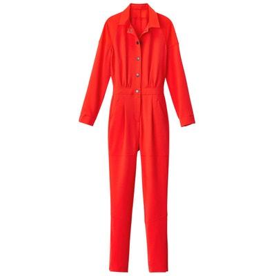 da88e54dc6aff Combinaison pantalon bi-matière Combinaison pantalon bi-matière LA REDOUTE  COLLECTIONS