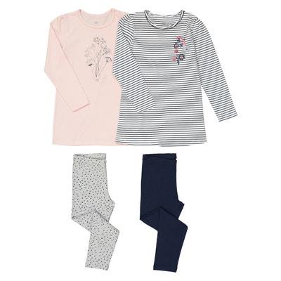Lote de 2 pijamas estampados, 3-12 años Lote de 2 pijamas estampados, 3-12 años La Redoute Collections