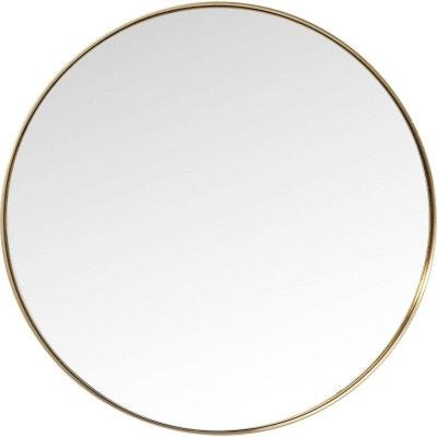 Miroir Curve rond laiton 100cm Kare Design KARE DESIGN