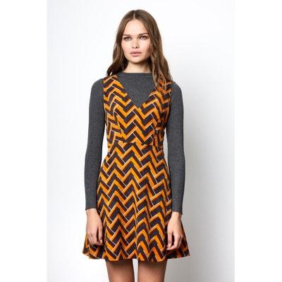 Geometric Print Skater Dress COMPANIA FANTASTICA