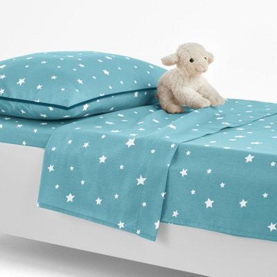 Drap housse bébé coton étoiles La Redoute Interieurs | La Redoute