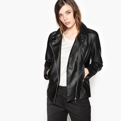 Blouson imitation cuir femme taille 50