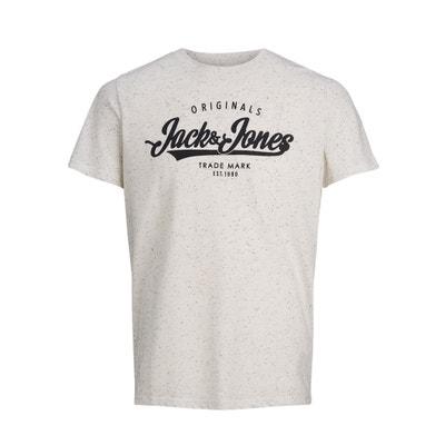 Koszulka z okrągłym wycięciem szyi z krótkim rękawem Koszulka z okrągłym wycięciem szyi z krótkim rękawem JACK & JONES