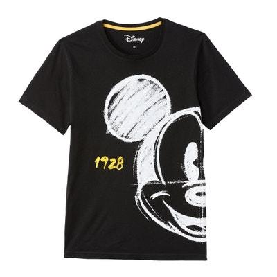 T-Shirt MICKEY MOUSE, runder Ausschnitt T-Shirt MICKEY MOUSE, runder Ausschnitt La Redoute Collections