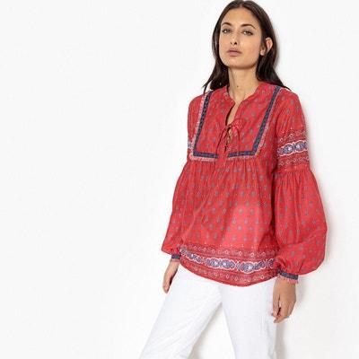 Robe chemise en jean la redoute