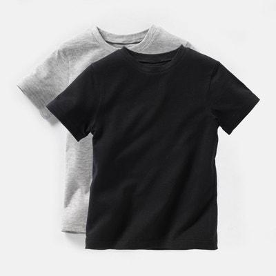 T-shirt 3-12 ans (lot de 2) La Redoute Collections