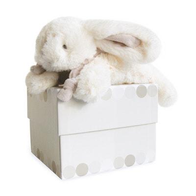 Small Bonbon Rabbit - Taupe DOUDOU ET COMPAGNIE