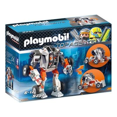 Chef de la Spy Team avec Robot Mech 9251 Chef de la Spy Team avec Robot Mech 9251 PLAYMOBIL