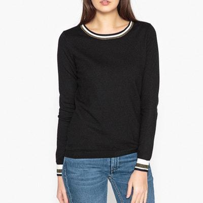 Пуловер с круглым вырезом из тонкого трикотажа Пуловер с круглым вырезом из тонкого трикотажа MAISON SCOTCH