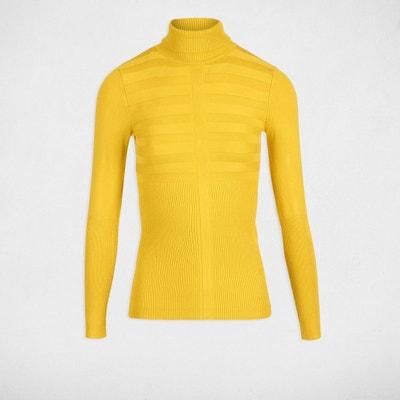 Pull jaune femme en solde   La Redoute c859b910ba5f