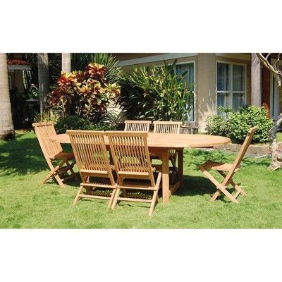 Salon de jardin - Table, chaises Home maison | La Redoute