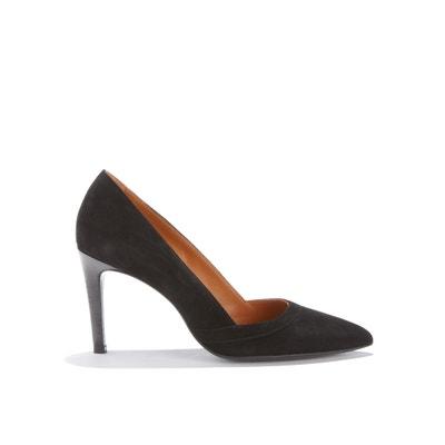 Туфли на каблуке-шпильке из козьей кожи Туфли на каблуке-шпильке из козьей кожи RIVECOUR