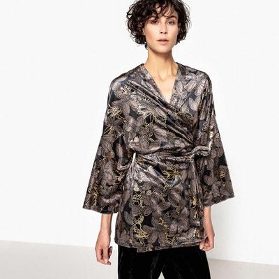 Veste kimono velours Veste kimono velours LA REDOUTE COLLECTIONS