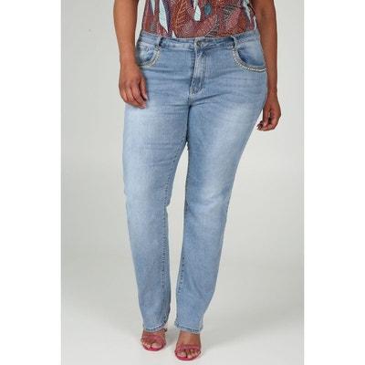 Jeans straight - Longueur 34 Jeans straight - Longueur 34 PAPRIKA. PAPRIKA.  Jeans straight - Longueur 34. 59,99 €. Jeans straight magic up extra long  ... d97718599b85