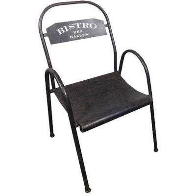 chaise mtal bistro des halles chaise mtal bistro des halles antic line crations - Chaise Metal