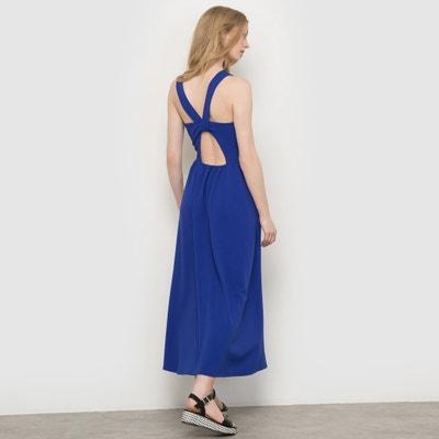Платье расклешенное из рельефного трикотажа, длина миди Платье расклешенное из рельефного трикотажа, длина миди La Redoute Collections