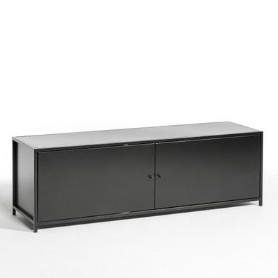 Romy metal tv unit black am pm la redoute - Ampm meuble tv ...