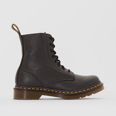 Emmeline Leather Lace-Up Ankle Boots DR MARTENS