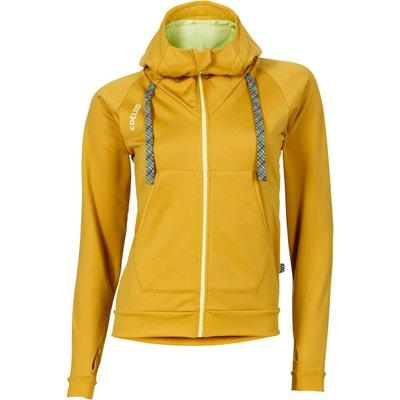 Sender - Couche intermédiaire Femme - jaune EDELRID