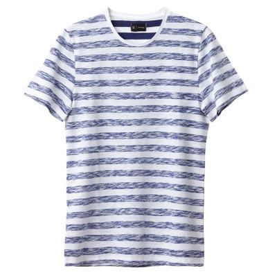 Camiseta con cuello redondo y manga corta Oeko Tex La Redoute Collections
