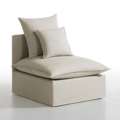 Chauffeuse déhoussable lin/coton, Nélia La Redoute Interieurs