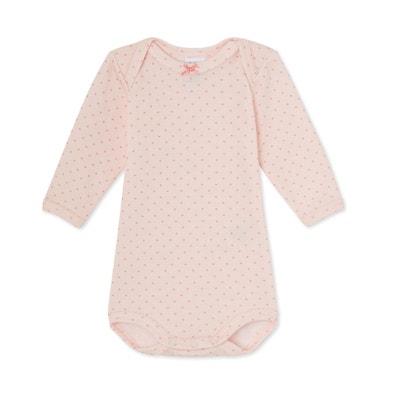 Body bébé fille manches longues laine et coton PETIT BATEAU 19d3fad9a93