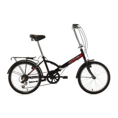 Vélo pliant  20'' Classic noir TC 34 cm KS